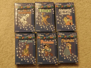 Complete playing card sets for Disney's Story Boards Game