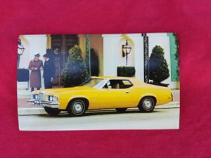 1973 MERCURY COUGAR 2-DR NOS Dealer Promo Postcard