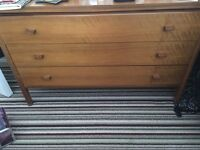 x2 Wooden Chest of Drawers
