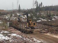 Logging contractor looking for year around workers.