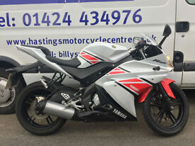 Yamaha YZF-R125 WGP 50th Anniversary / Learner Legal Sports Bike / Finance