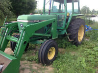 John Deere Tractor & Hay Equipment