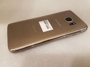 SAMSUNG GALAXY S7 GOLD 32GB UNLOCKED TO ALL CARRIER *USED*