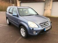 2005 Honda CR-Vi CTDI Sport 5 Door Turbo Diesel Bright Blue Metallic