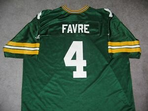 Brett Favre #4 - Green Bay Packers Jersey **NEW PRICE**