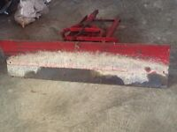 3 point hitch and/or grader