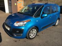 0909 Citroen C3 Picasso 1.4VTi 8v 95bhp VTR+ Blue 5 Door 58978mls