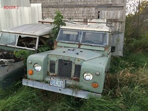 9 Vintage Land Rover's for Sale - Parts/Restoration - Updated!