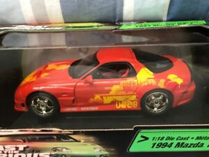 1994 Mazda RX-7 1:18 Die Cast Fast & the Furious