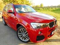 2015 BMW X3 xDrive20d M Sport 5dr Step Auto Low Miles! 1 Owner! 5 door Estate