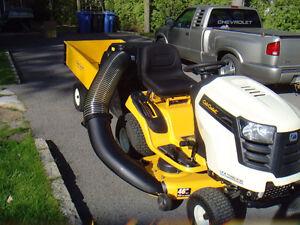 tracteur a gazon CUB CADET LTX 1146