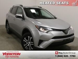2017 Toyota RAV4 LE  Heated Seats - $175.83 B/W
