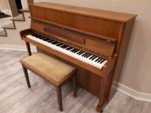 Zimmermann Piano In Good Condition.