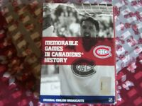 MEMORABLE  GAMES  IN  CANADIENS  HISTORY