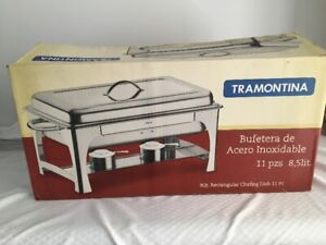 Tramontina Chafing Dish New in Box 11 piece