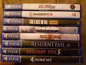 PS4 Titles for Sale