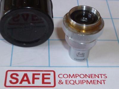Leitz Wetzlar L-250.22 Microscope Objective Lens Carl Zeiss C44