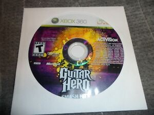 GUITAR HERO SMASH HITS XBOX 360 $20. Prince George British Columbia image 1