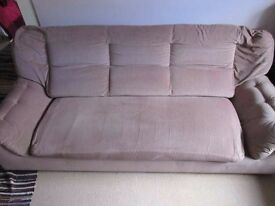 FREE: Three-Seater Sofa in good condition