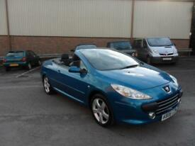Peugeot 307 CC 2.0HDi ( 136bhp ) Coupe 2006 Sport