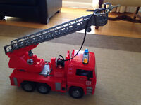 Toy trucks & tractor attachments