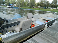 Fishing boat for sale with suzuki motor