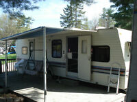 1992 30ft Trailer for sale-with beautiful view of the lake
