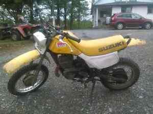 85 cc suzuki 2 stroke