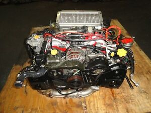 JDM SUBARU IMPREZA STI GC8 EJ20 TURBO ENGINE, 5SPEED TRANSMISSIO Prince George British Columbia image 2