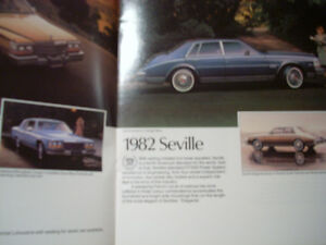 1982 Cadillac sales brochure Peterborough Peterborough Area image 4