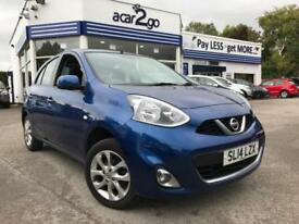 2014 Nissan MICRA ACENTA Manual Hatchback