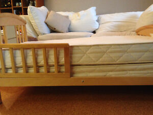 2 Organic Crib Mattresses plus pads and fitted sheets