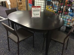 5pc Extendable Dining Set Clearance - LAST ONE!!!
