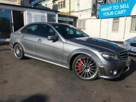 2010 MERCEDES BENZ C63 AMG AUTO SALOON **ONLY 34,000 MILES FROM NEW**
