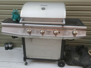 Can Deliver Brinkmann Stainless Steel Propane BBQ