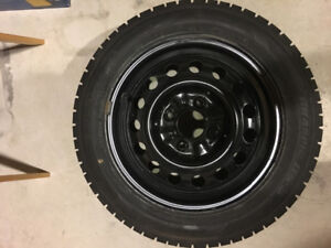 Snow tires with Wheels