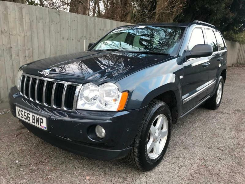 7e98adcb3c 2006 56 Jeep Grand Cherokee 3.0CRD 4X4 Auto Limited 215 bhp 32.8 mpg MAY PX