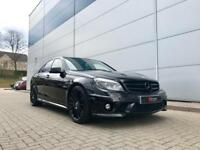2009 Mercedes-Benz C63 AMG 6.3 Saloon + ALL BLACK + HIGH SPEC