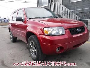 2005 FORD ESCAPE LIMITED 4D UTILITY 4WD