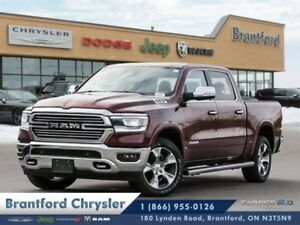 2019 Ram 1500 Laramie  - Leather Seats -  Cooled Seats