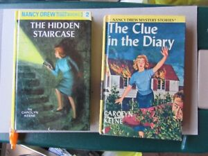 NANCY DREW BOOKS (2)