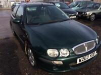 2000/W Rover 25 1.4 16v 84ps iL LONG MOT HPI CLEAR