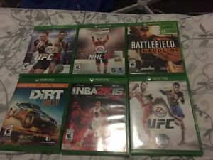 Xbox One games for sale or trade!