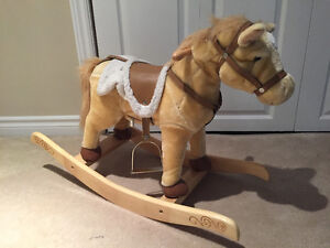 Almost new 28-inch rocking horse