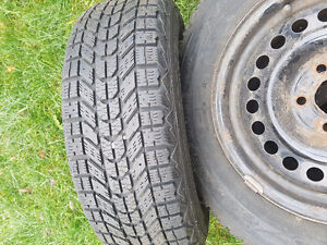 Set of 4 winter tires
