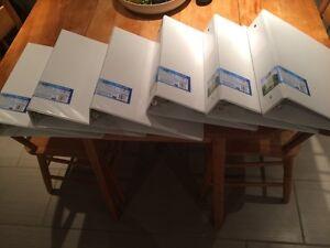 "2"" binders -new- 5 for 25$ Gatineau Ottawa / Gatineau Area image 1"