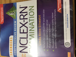 Saunders comprehensive NCLEX RN review book 6th ed.