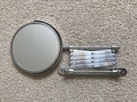 💎🛁Extendable IKEA DUAL sided Shaving Mirror just £10.00🛁💎