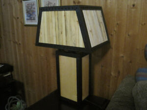 Rustic Table Lamps