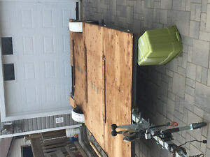 14x8 utility trailer